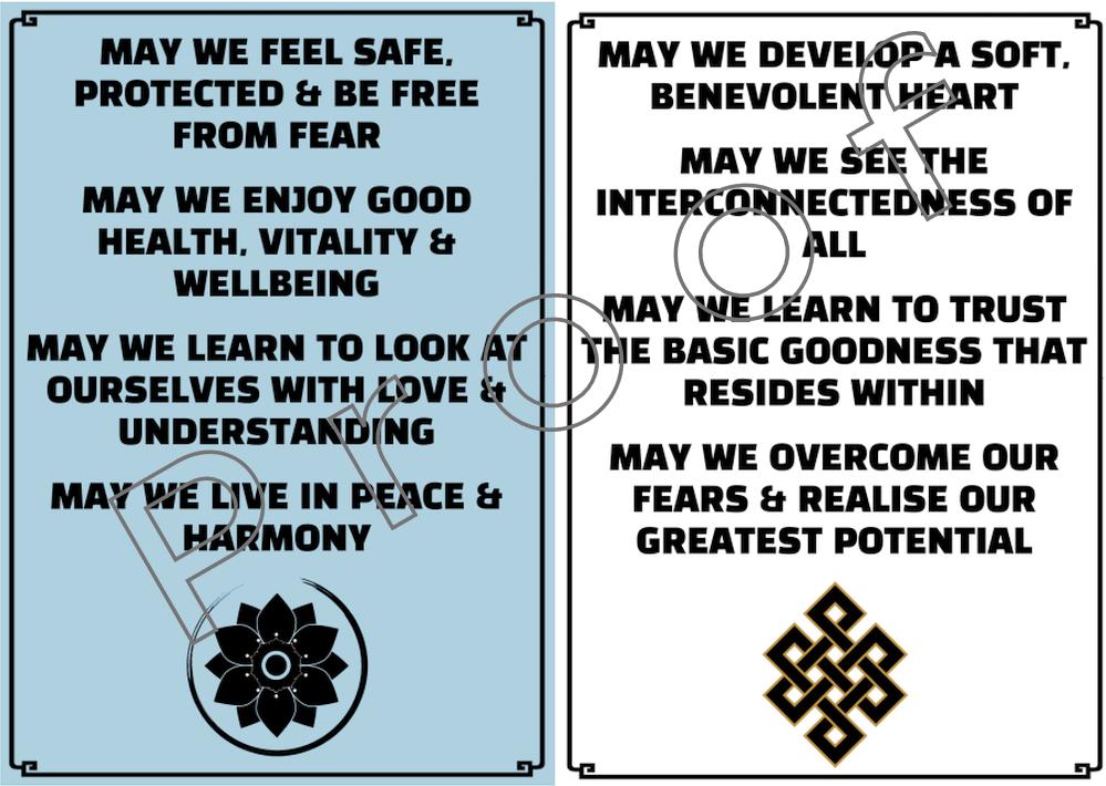 Prayer Flag 1 & 2