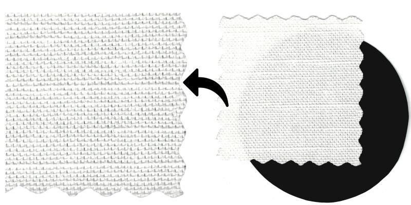 220 gsm premium organic fabric used for printing prayer flags - lotus seed